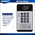 Fanvil i20s SIP Door Phone Access Control Door Intercom Waterproof IP65 Support PoE
