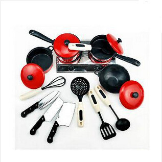 13pcs/set New 2014 Funny Children Cooking Toys Plastic Kitchen Toys Set Kids/Novetly Children Pretend Toys Kitchen Accessories(China (Mainland))