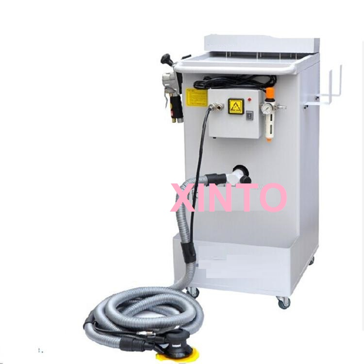 220V 2000W Auto dust free dry dust suction type polishing tool, dust collecting polisher, mill dry grinding integrated system(China (Mainland))