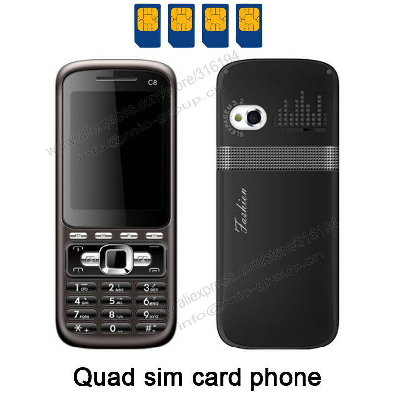 Standby FM TV Receive Torch Java Mobile Phone C8 P155-in Mobile Phones ...