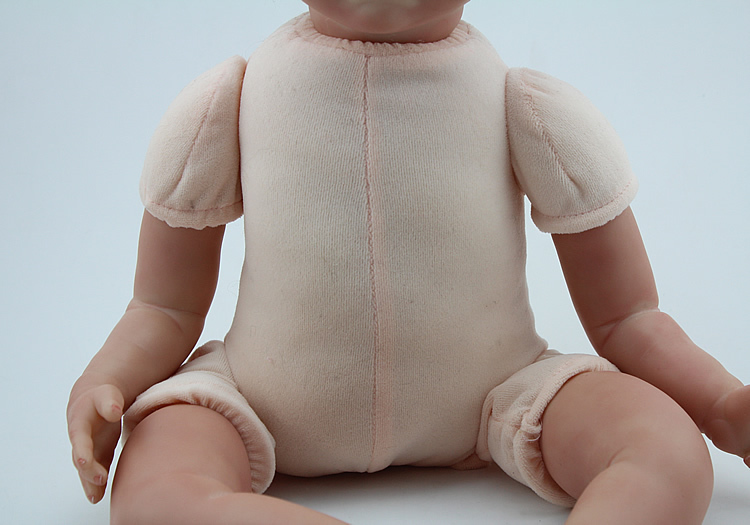 Suede Cloth Doll Body For 3/4 Arms and Legs 16'' 18'' Reborn Baby Doll Kits Toys Accessories(China (Mainland))