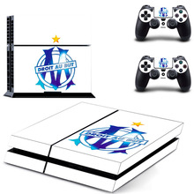 Buy Olympique de Marseille droit au PS4 Skin Sticker Decal Vinyl Sony PS4 PlayStation 4 Console 2 Controller Stickers for $6.98 in AliExpress store