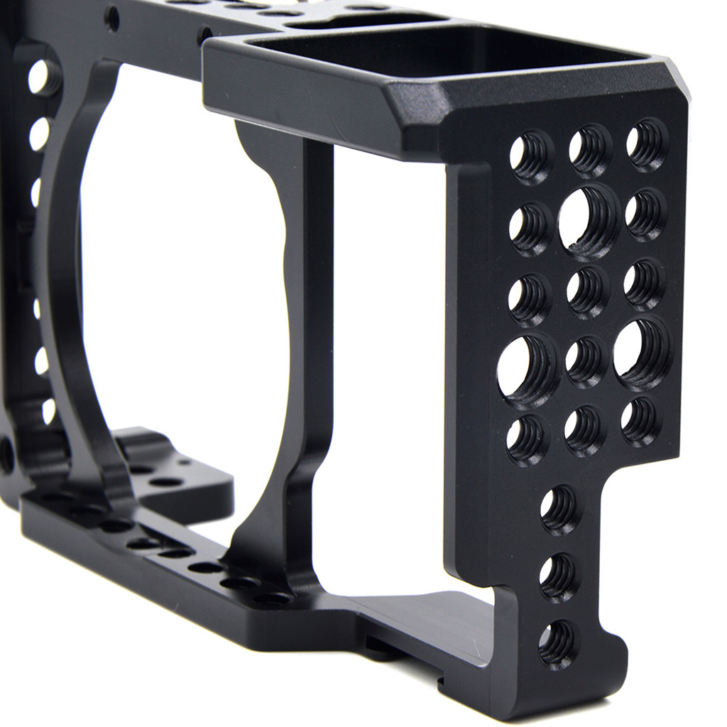 Aluminium Alloy Video Digital Camera Cage Stabilizer Protector for Sony A6300 NEX7 ILDC T2L3