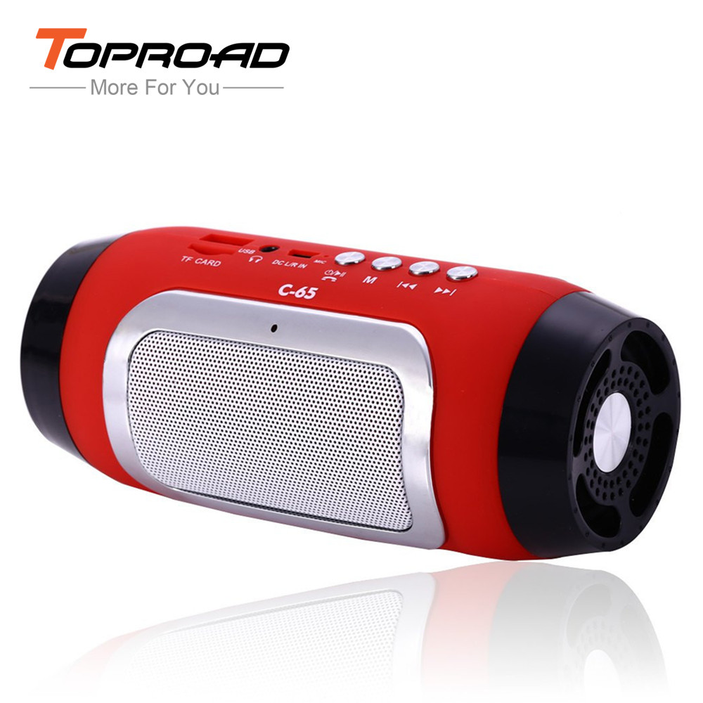 C-65 Bluetooth Speaker Radio fm Speakers Mini Wireless Stereo Parlantes Portable Audio MP3 Player Altavoz Support TF Line in(China (Mainland))