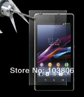 Retail Package 0.4MM  8-9H + Retail Package Packaging Premium Tempered Glass Screen Protector film for Z 1  Z1 L39H