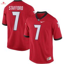 Nike 2017 Georgia 7 Matthew Stafford Can Customized Any Name Any Logo Limited Ice Hockey Jersey 4 Champ Bailey 3 Todd Gurley II(China)
