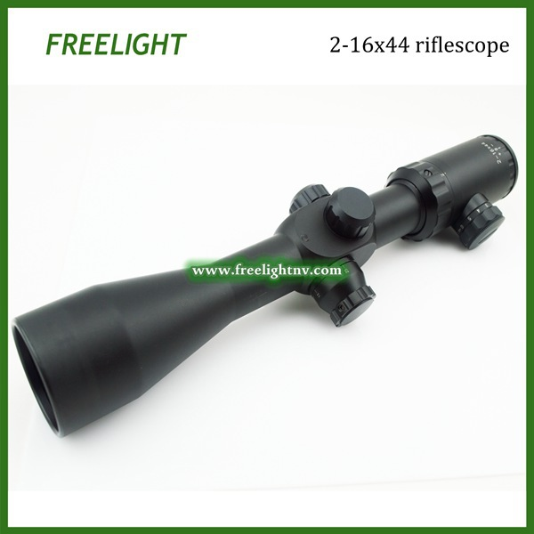 DHL 2-16x44 high shock resistance Riflescope side focus optical sight multi-coated black matte scout scope - Cinderalla's Store store