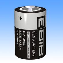500 шт./лот новое плк батарея для EEMB ER 14250 1 / 2AA 3.6 В 1200 мАч er14250 литий плк аккумулятор