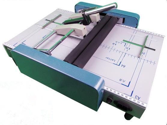 paper folding machine staples