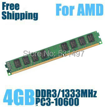 Brand New Sealed DDR3 1333 / PC3 10600 4GB Desktop RAM Memory compatible AMD processor !! - Online Store 531497 store