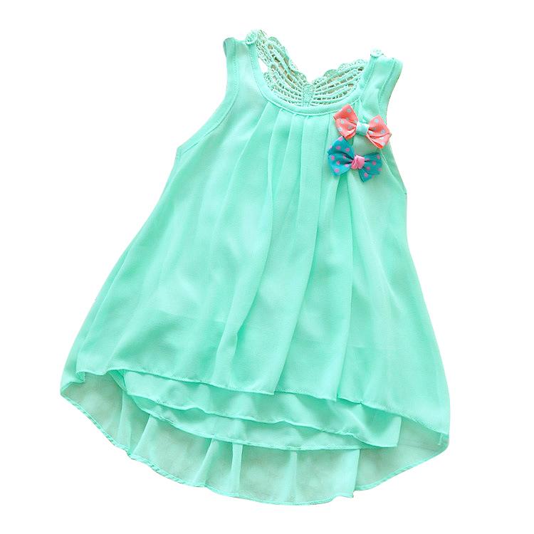 chiffon infant dress baby girl clothing summer infantil toddler clothes newborn dresses for girls roupas bebes recem nascido(China (Mainland))
