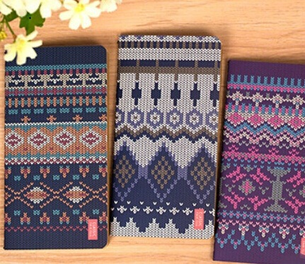 Vintage Sweet Creative Sweater series Kraft Paper notebook/Retro Diary/wholesale<br><br>Aliexpress