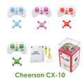 Clearance sale Cheerson CX 10 RC Helicopter 4 Channel 6 Axis Gyro CX10 mini drone 360