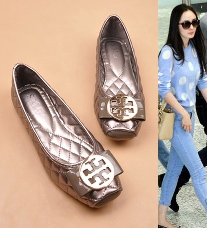 Fashion Metal Buckle Decoration Bow Small Plaid Square Toe Comfortable Plus Size Shoes Moccasins Flat-bottomed Single - happy day 138 store