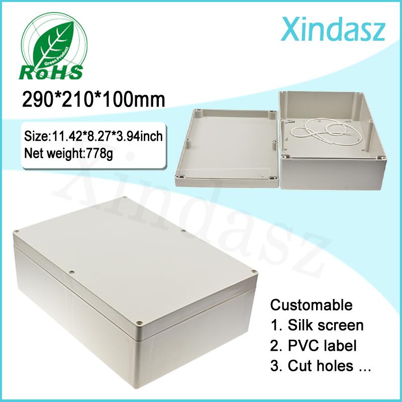 290*210*100mm Plastic electrical enclosure distribution box ip65 plastic waterproof electrical junction box<br><br>Aliexpress