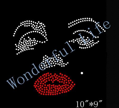 Rhinestone Templates Wholesale | high quality free shipping font b Rhinestone b font Marilyn Monroe font b Template b font