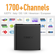Buy European Android 6.0 Set Top Box TV Receiver Free 1700 IUDTV IPTV Channels French Arabic UK Turkish Netherlands Better MXV for $56.28 in AliExpress store