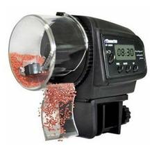 New Digital Automatic Auto Aquarium Fish Tank Food Feeder Timer LCD Black Saf(China (Mainland))