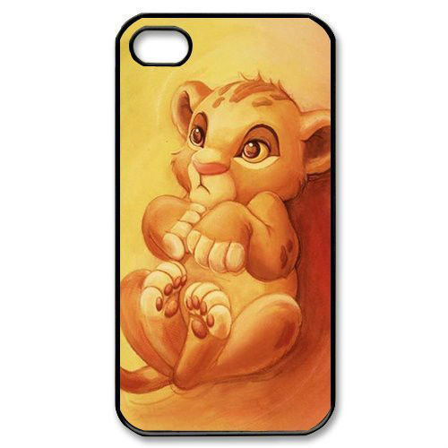 The Lion King Lovely Cute Fantastic Cell Phones Cover Cases for iPhone 4/4s/5/5s/5c/6/6plus(China (Mainland))