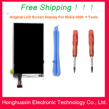Good Quality LCD Display  For NOKIA 5800 X6 5230 N97 mini + Tools , Free shipping !