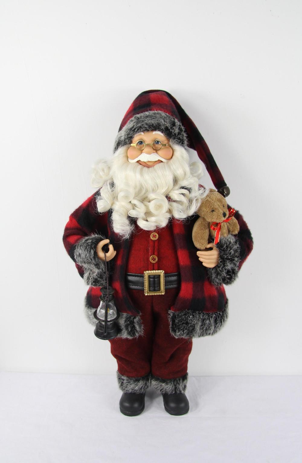 christmas santa claus adornos navidad pants gift hat bags figurine new year home decorations natale tree ornaments - shenzhen etder store