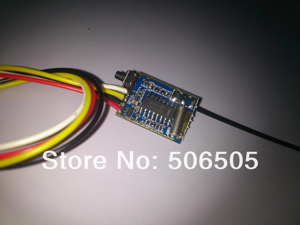 UHF 200mW video wireless transmitter UHF video transmitter AV Transmission Module(China (Mainland))