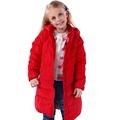Top quality NEW 2016 Fashion Girls Winter Coat female children down jacket medium long medium large