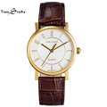 Brand TS Fashion Ladies Casual Quartz Watch Women Business Wrist Watches Leather Strap Waterproof 50M Anti