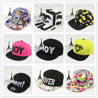 High Quality vintage snapback hat for women /man hip hop caps fashion harajuku strapback casual hats baseball cap gorras hombre