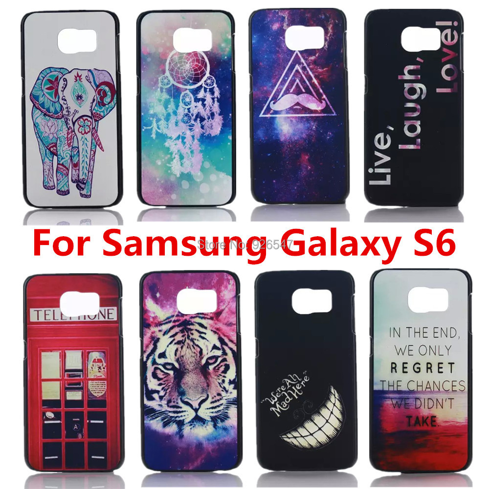 16 Style Perfect Design Painting Case Cover Samsung Galaxy S6 G9200 G920 G925F Original Back - Shenzhen CY group co., LTD store