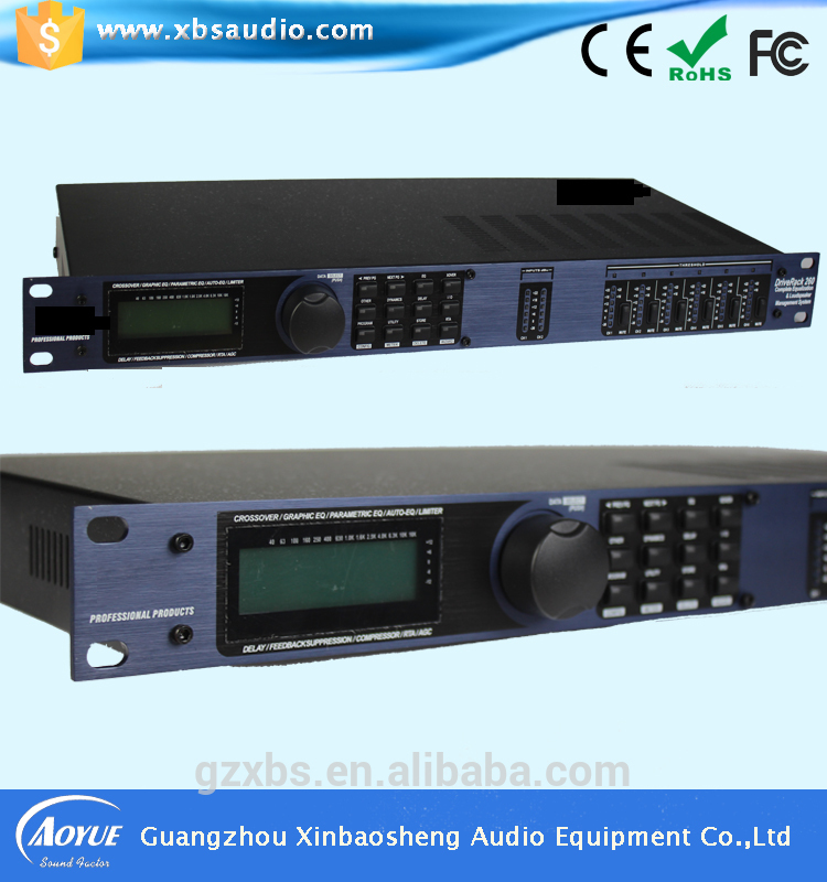 Guangzhou xinbaosheng factory 260 DSP Audio speaker digital processor