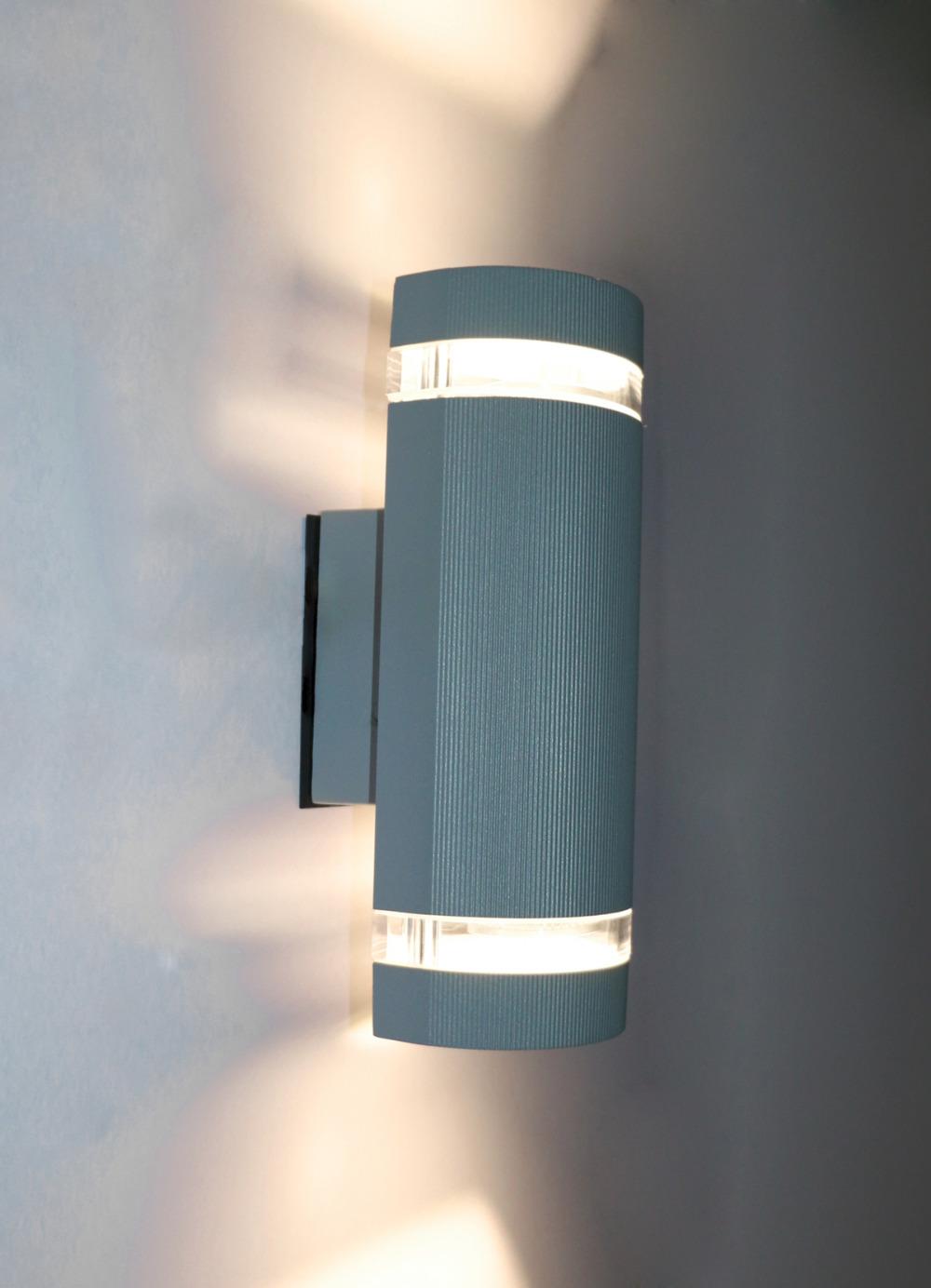 Aliexpress.com : Buy 14W Semi Cylinder Up/Down Indoor/Outdoor Exterior Garden Wall Light Sconce ...