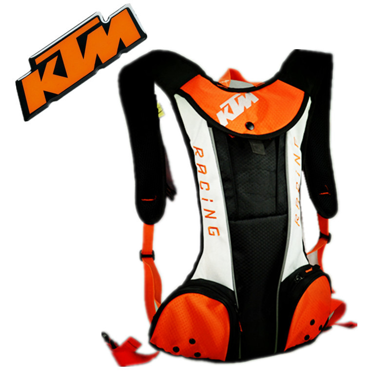 motorcycle Motocross KTM Hydration pack water bags/ Travel bags/ Bicycle racing packages Bicycle helmet pack BB-KTM(China (Mainland))