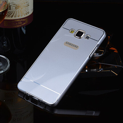 A3 Aluminum Metal Frame And PC Back Cover Case For Samsung GALAXY A3 A3000 A300F Cell Mobile Phone Bag Case Free Shipping(China (Mainland))
