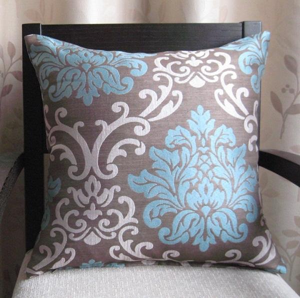HOT SALE wholesale&retailing damask jacquard 45*45cm sofa car decoration living room chair pillow cushion