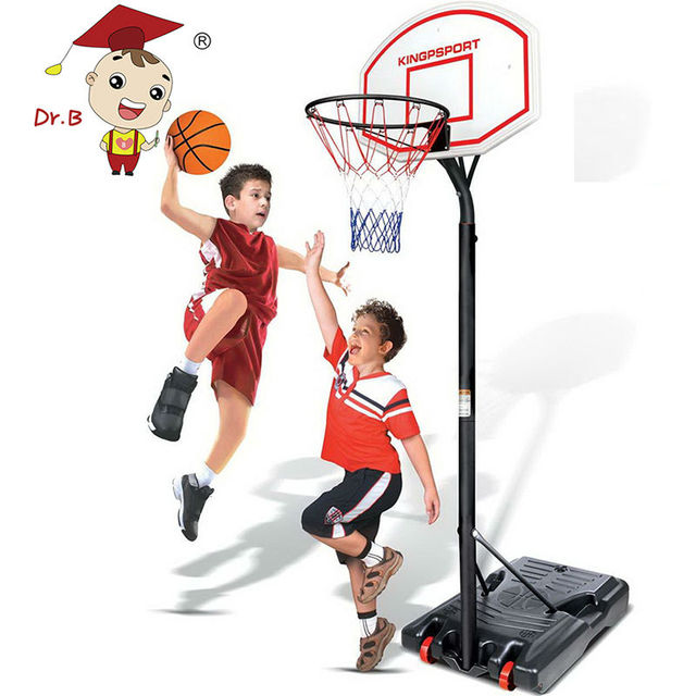 Online Shop DR.B Stand Basket Holder Hoop Goal Outdoor Sport Activity Game Adjustable Children ...
