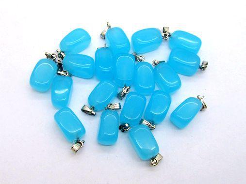 Free Shipping ! Natural Stone Pendants, Tumble Stone, 10-14 mm Ocean Quartz, 50 pcs/lot, , Good Quality!(China (Mainland))