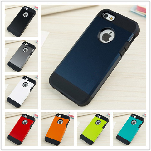 Super Protect Tough Armor Shockproof Case Cover for Apple iPhone 5 5G 5S 1pcs/lot TPU Hard Back New