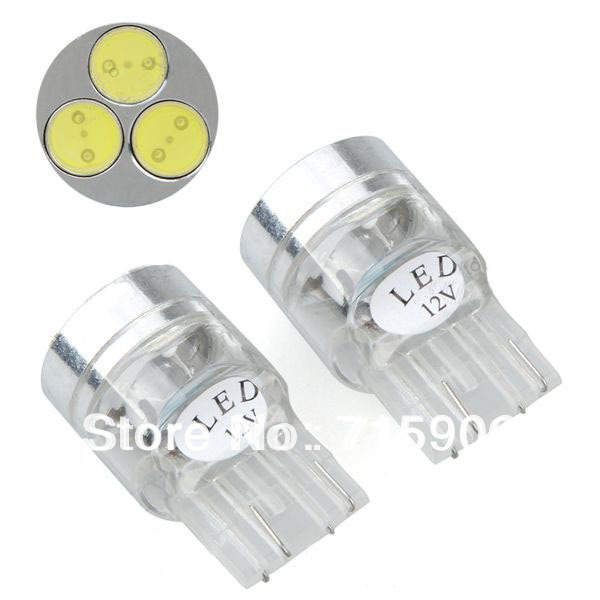 2 Car T20 7440 992 3 White High Power SMD LED Tail Brake Light Lamp Bulb 12V