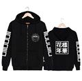2017 New Arrival Hoodies Sweatshirts For Women Fashion BTS KPOP Sportwear Streetwear Harajuku Sailor Moon Hooded