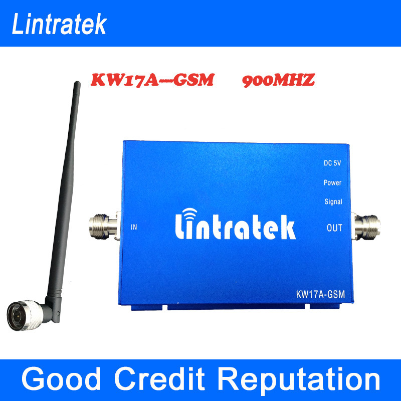 GSM 900MHz signal repeater signal booster gsm signal amplifier 65db gain with indoor antenna home use signal booster(China (Mainland))