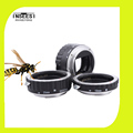 Photo Accessories Silver Mount Metal AF Auto Focus Macro Extension Tube Ring Lens Adapter For Canon
