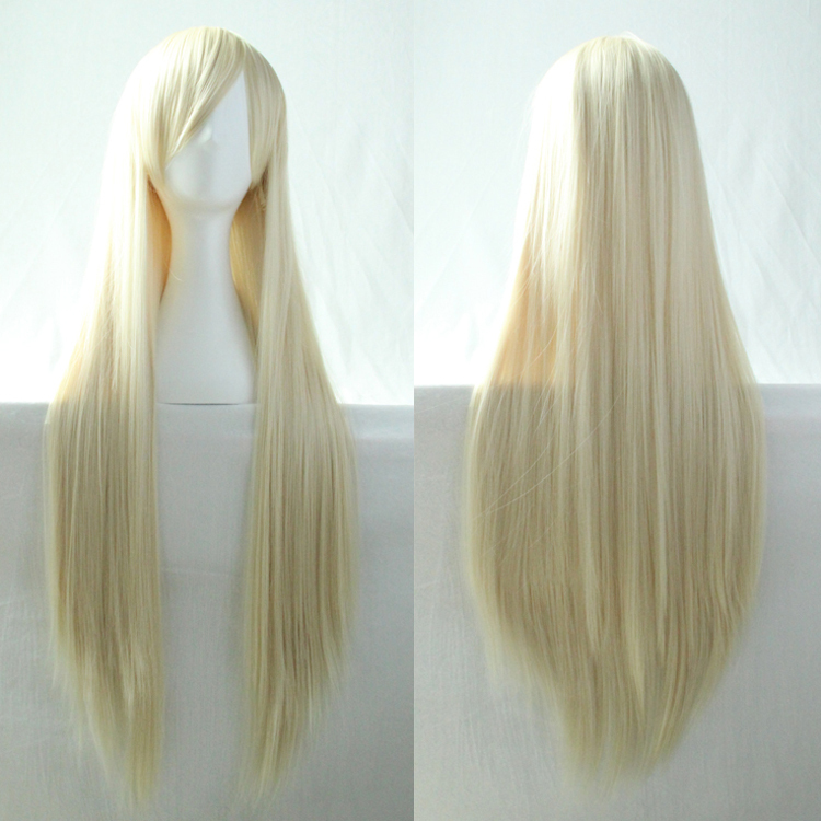Aliss Queen Long Hair 613 Platinum Blonde Color Dance Party Synthetic Wigs Peruca Loira Cosplay Fiber Black Women Rosa - Queena hair products co., LTD store