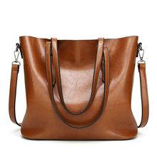 Buy Designer handbags high pu leather bags women messenger bag shoulder crossbody large capacity vintage casual tote bag for $32.60 in AliExpress store