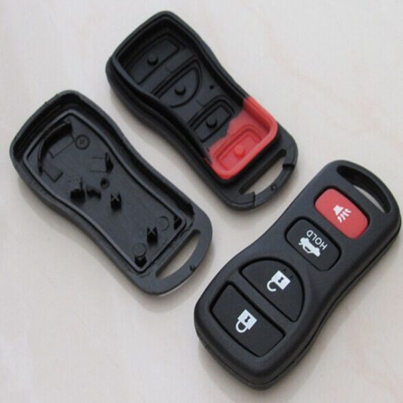 4 Buttons Replacement Remote Key Shell for Nissan Sylphy Tiida Remote Transmitter 4 Button(China (Mainland))