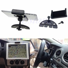 2015 Newest Car Auto CD Mount Tablet PC Cradle Holder Stand For Pad 2 3 4 5 Air for Galaxy Tab