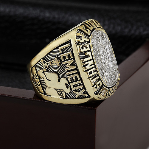 1995 NHL New Jersey Devils Stanley Cup Championship Ring With High Quality Wooden Box Fans Best Gift Collection(China (Mainland))