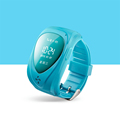GPS Tracker Watch Kids Hot sale Smart watches Blue Pink Green SOS Anti lost Monitor 12