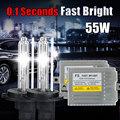xenon H7 HID conversion kit Fast bright Slim ballast 55w F5 H1 H3 H4 1 H7
