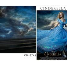 baby background for photo studio 6.5x10ft(200x300cm) Cinderella fantasy sky studio walls